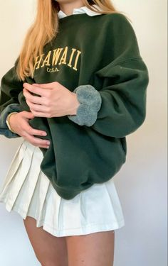 Adrette Outfits, Indie Outfits, Preppy Outfits, Teen Fashion Outfits, Retro Outfits, Girly Outfits, Cute Casual Outfits, Look Fashion, Stylish Outfits