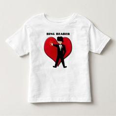 Ring Bearer Shirt - Wedding -