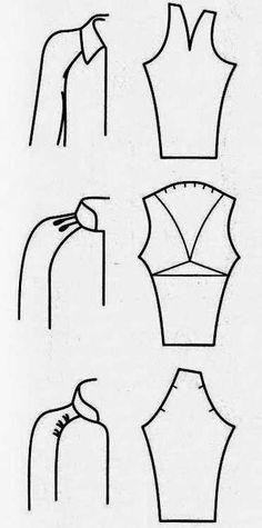 Moldes Moda por Medida: DETALHES DE MODELAÇÃO - 26
