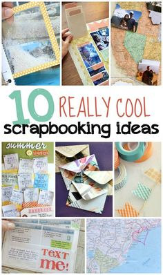 10 Really Cool Scrapbooking Ideas