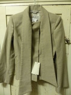 Amazing #StellaMcCartney Fall Blazer Coat. #tweed Fitted with scarf. #sale #gitasan #coupon