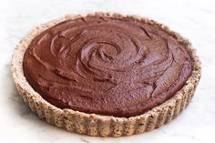 Got a blender on hand? Then this dreamy tart will be a snap to prep.