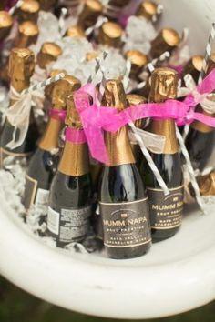 Mini Bottles of Champagne <3