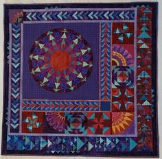 Gallery - Obsessive quilter- Glad Plaid Goose Dance by Ann L. Petersen, 2016
