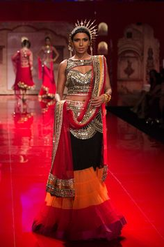 Lengha by Suneet Verma at India Bridal Fashion Week 2014