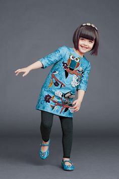 dolce and gabbana winter 2015 child collection 42