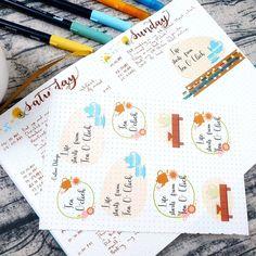 Sticker Shop, Printable Stickers, Some Fun, A5, Bullet Journal, Printables, Digital, Design, Print Templates