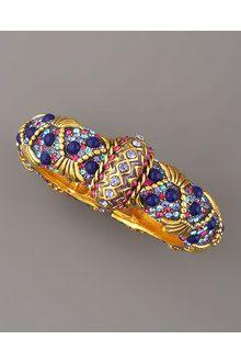 jose and maria barrera bracelets   Jose & Maria Barrera Multistone Beaded Bracelet in Multicolor (multi ...