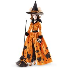 Halloween Barbie Dolls ~ We have probably all heard of the fabulous Holiday Barbie Collection by Mattel, but did you know that there are also Collector's Barbies for Halloween? Description from pinterest.com. I searched for this on bing.com/images