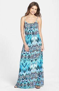FELICITY & COCO 'Ezri' Print Maxi Dress (Regular & Petite) (Nordstrom Exclusive)