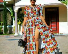 African fashion is available in a wide range of style and design. Whether it is men African fashion or women African fashion, you will notice. African Maxi Dresses, African Dresses For Women, African Attire, African Wear, African Women, Ankara Gowns, African Fashion Designers, African Print Fashion, Africa Fashion