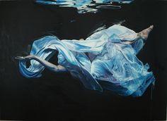 Night swimming by Rainer Augur