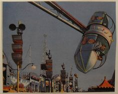 vintage amusement park photo rides - Boyles Joyland in Topeka, Ks had one like this back in the late We called it the Bullet and I rode it over and over again! Vintage Carnival, Vintage Theme, Vintage Stuff, Vintage Travel Posters, Vintage Postcards, Oneida Lake, Fair Rides, Amusement Park Rides, Carnival Rides