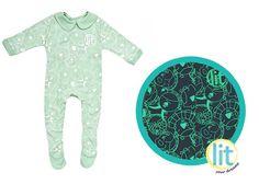 Cute Cloud (18 y 24 meses) #pijamas #bebes #niños #lit #babies #kids #night #clothes #brillan #noche #sleepwear #enviogratis