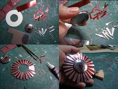 Pequeñeces: DIY- Espejos en miniatura- Miniature mirrors