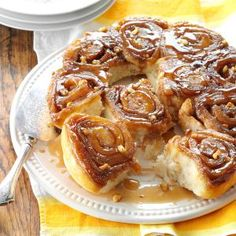 Maple Sticky Buns Recipe from Taste of Home -- shared by Priscilla Rossi of East Barre, Vermont