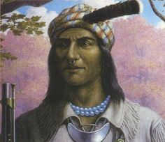 Native History: The Day Tecumseh's Prophesy Rocked the World - ICTMN.com     THEY HAVE NO PICTURE OF HIM IF YOU GO TO YOU TUBE A TYPE SAIDHISGRANDSON LOOK LIKEHIME
