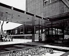 Centro Médico/Pedagógico Nacional, Av. Presidente Masaryk, Polanco, Mexico DF 1962    Arqs. Enrique Cervantes Sánchez y Pedro Ramírez Vázquez    Fotos: Guillermo Zamora