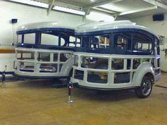 Airstream Basecamp, Work Trailer, Teardrop Caravan, Caravans, Small Living, Living Spaces, Rv, Camping Trailers, Campers