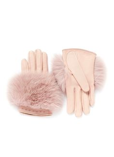 Dashing Mittens Winter Gloves Lined New Women Luxury Brand Genuine Fur Glove Solid Removable Chain Fox Fur Glove A9 Apparel Accessories