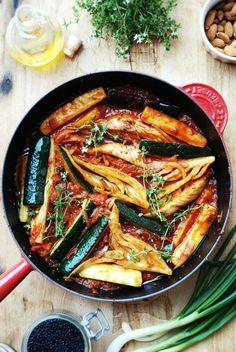 gulasz z fenkulem i cukinia w sosie pomidorowym1