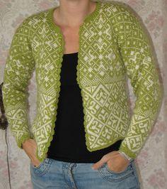 Ravelry: Noors vest / Norwegian cardigan pattern by Jessica Tromp