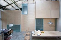 Camden workshop, London, 2014 - Henning Stummel Architects