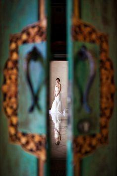 gorgeous wedding photo by Bali photographer, Veli Yanto | via junebugweddings.com