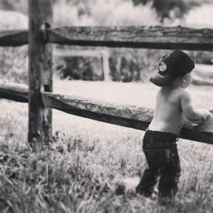 Country boy/baby photography/birthday pic