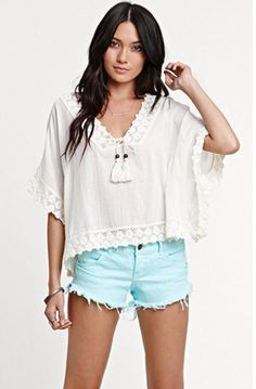 PAC SUN. tops like these <3