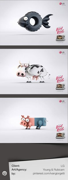 Let your food taste like food - Advertising agency: Young & Rubicam - Client: LG
