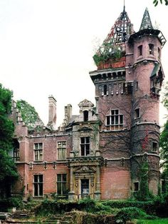 The Chateau Charles-Albert in Belgium, completed in 1887, was once the residence of the former Prime Minister Van Zeeland of Belgium from 1933 until his death in 1973. The building was bombed during in WWII, set ablaze three times, squatted in, vandalised and pillaged and abandoned for 40 years. In 2012, a Spanish investor bought the property and oversaw a €6 million renovation, for which the governing region paid half. Finished in 2014.