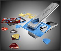 For my guitar playing friends... turn old credit cards into new guitar picks.