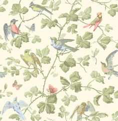 Cole & Son Winter Birds wallpaper