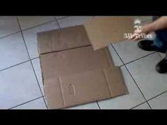 O Que Fazer Com Uma Caixa De Papelão Que Não Te Serve Mais…Interessante  