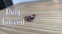 Full Length Wire Wrapped Ring Tutorial with Undrilled Stone Wire Rings Tutorial, Wire Wrapping Tutorial, Wire Tutorials, Ring Tutorial, Jewelry Making Tutorials, Diy Jewelry Rings, Beaded Rings, Wire Jewelry, Handmade Jewelry