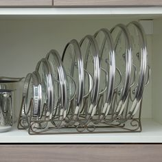 kitchen storage ideas, tableware storage ideas, storage solution for kitchen - pantry organization kitchen Diy Kitchen Storage, Kitchen Cabinet Organization, Kitchen Pantry, Home Decor Kitchen, Kitchen Hacks, Kitchen Ideas, Pot Lid Organization, Organizing, Kitchen Inspiration