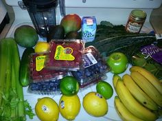 Dr. Oz 3 day detox cleanse - fruit and veggies