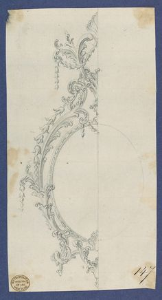 Thomas Chippendale   Sconce, in Chippendale Drawings, Vol. I   The Metropolitan Museum of Art