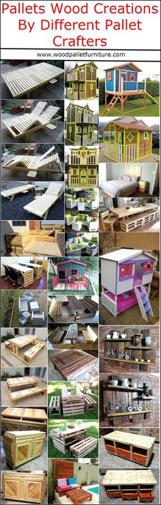 Pallets Wood Creations By Different Pallet Crafters