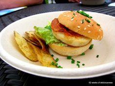 Bistro O mat: fenkolilla maustettu haukiburger / Taste of Helsinki 2013