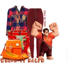 """""""Wreck-it Ralph"""" by the-gurl-on-fire on Polyvore"""