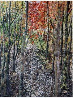 noriko endo quilts | Noriko Endo's Impressionist Quilts | American Craft Council