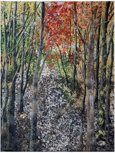 noriko endo quilts | Noriko Endo's Impressionist Quilts | American Craft Council