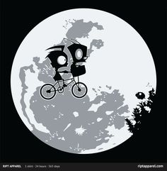 """""""Dib and E.T."""" by Hoborobo T-Shirt for sale only on April 14th, 2012 $10 www.riptapparel.com"""