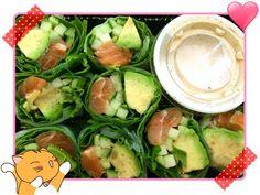 #healthy #sushi #diet #lowcal #sashimi #salmon #avacado #cucumber #veggies #lowcarb #ricepaper #sesame #sesamedressing #toronto #torontofood #food #instafood #foodporn #foodie #torontofoodie #springroll #roll #lettuce #yummy #dinner #weightloss #takeout #japanesefood #vegetables #fresh #lowcal by cutewendigo