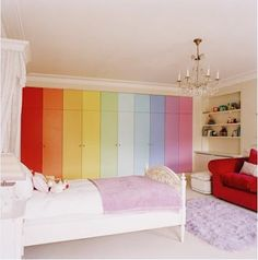 Rainbow Color Scheme.
