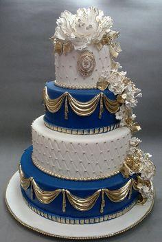 Luxury Birthday & Wedding Cake Shop In Mumbai, Cake Designs Collection Luxury Cake, Luxury Wedding Cake, Gold Wedding, Baby Mickey Mouse Cake, African Wedding Cakes, Bollywood Wedding, Engagement Cakes, Wedding Cakes With Cupcakes, Cake Flavors