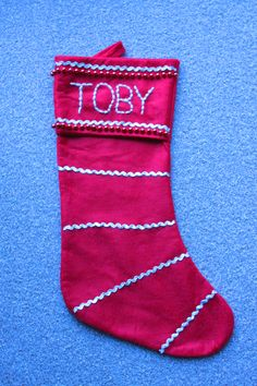 Decorated stocking