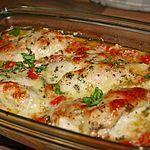 Hähnchenbrustfilet mit Tomate und Mozzarella in Kräuter - Sahne - Sauce, ein sehr schönes Rezept aus der Kategorie Auflauf. Bewertungen: 111. Durchschnitt: Ø 4,2.